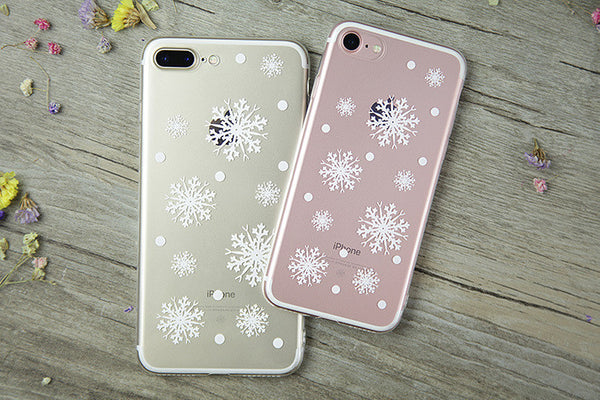CHRISTMAS SNOW FLAKE CASE FOR iPOHONE - X-Tronikz