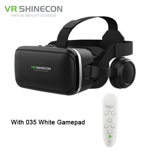 VR Headset With Bluetooth Controller - X-Tronikz