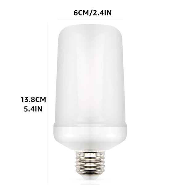 LED Flame Effect Light Bulb 110V 220V,5W &7W - X-Tronikz