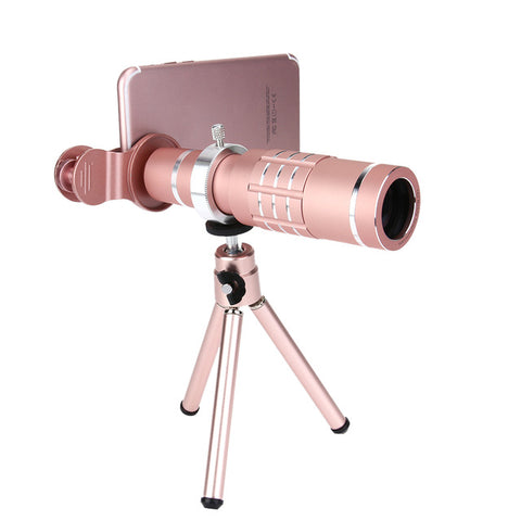 Alloet 18X Zoom Mini Phone Telescope - X-Tronikz
