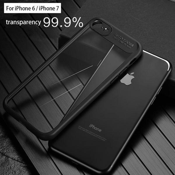 Transparent Silicon Case for iPhone - X-Tronikz