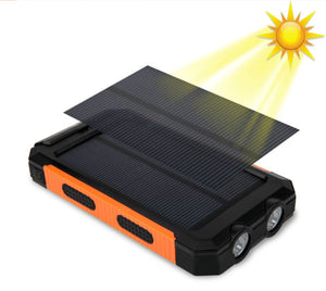 20,000 mAh Waterproof solar power bank