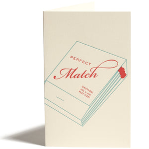 Perfect Match Greeting Card