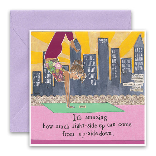 """Yoga"" Send Love Card"