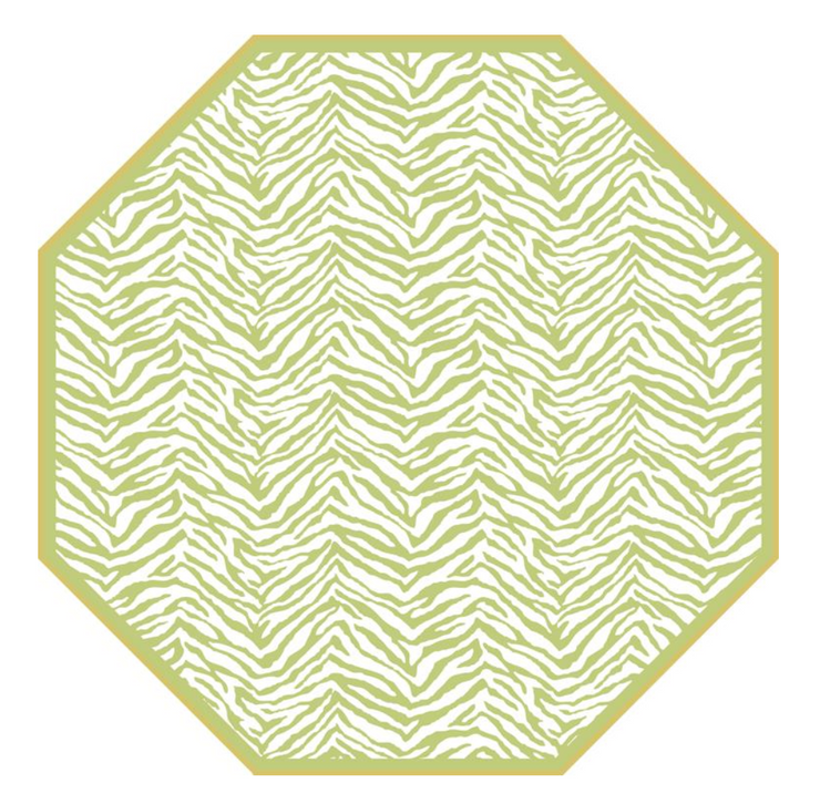Octagonal Double Sided Placemat