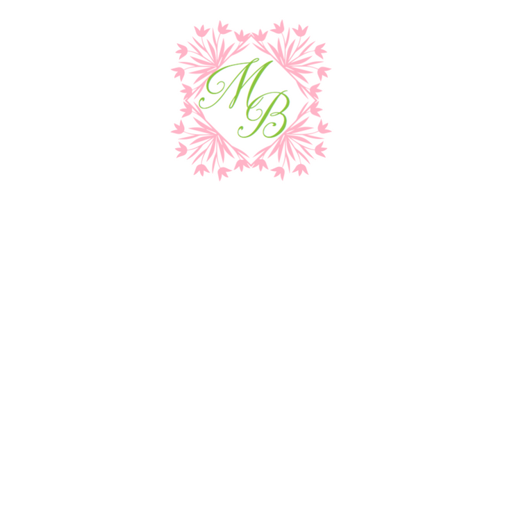 "Personalized ""Tulips"" Notepad"