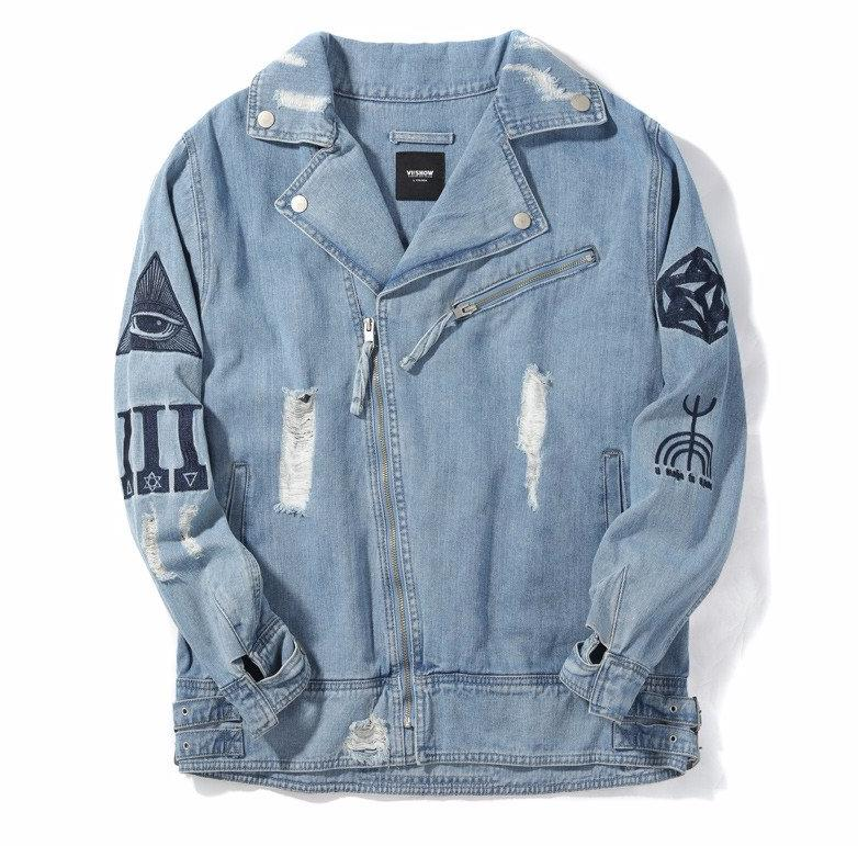 STICHTED Denim Jacket