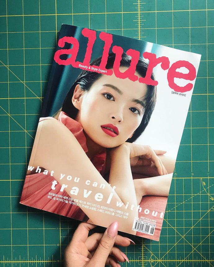 ALLURE KOREA - translated interview