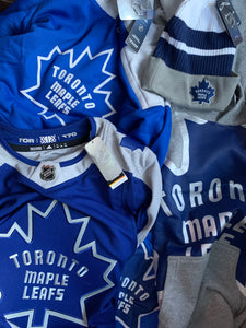 Maple Leafs Hockey Puck Pillow