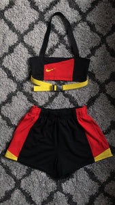 Red/Yellow Strapped Nike Set