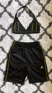 Jordan Brand Bicycle Short Set (Yellow)