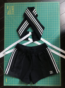 Adidas Halter + Short Set (knit)