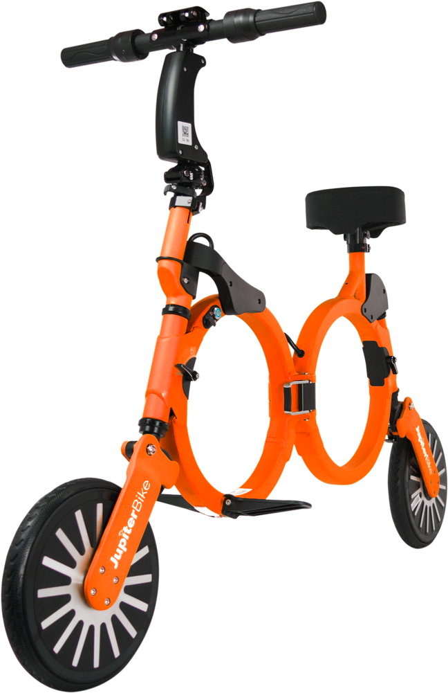 Jupiter Bike 2.0 - Solar Orange