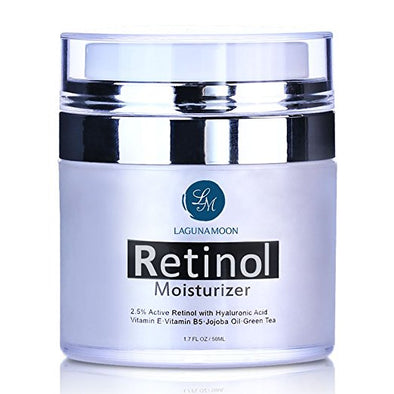 Lagunamoon Retinol Moisturizer Cream for Face and Eye