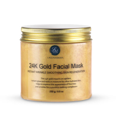 24K Gold Anti-Aging Facial Mask