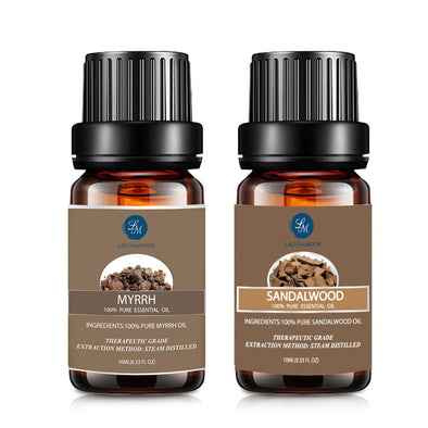Lagunamoon Myrrh Sandalwood Essential Oil
