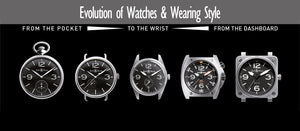The Evolution Of Wrist Watches