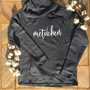 "Sweatshirt - Hooded with ""Metuchen"" in Script Lettering"