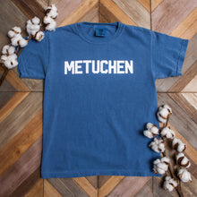 "Youth Short Sleeve - ""Metuchen"" in Block Lettering"
