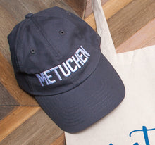 "Hat - ""Metuchen"" in Block and Script Lettering"