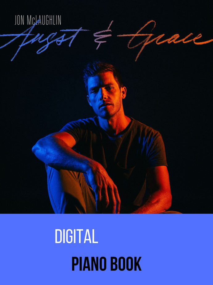 ANGST & GRACE - DIGITAL PIANO BOOK