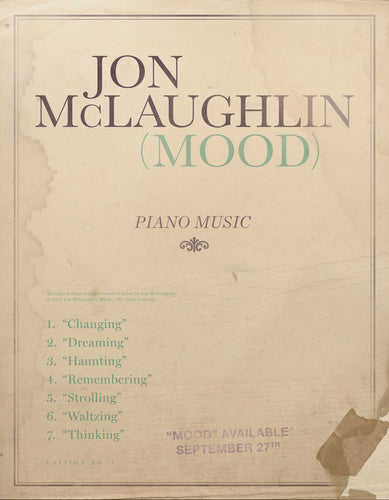 MOOD - PIANO BOOK