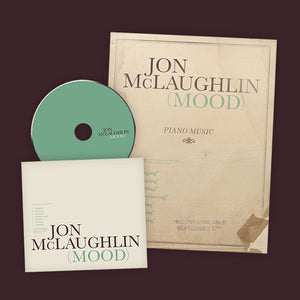 """MOOD"" CD & PIANO BOOK PRE-ORDER"