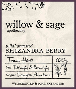 Shizandra Berry - Willow and Sage Apothecary