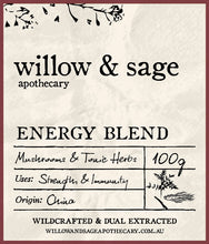 Energy Blend - Willow and Sage Apothecary