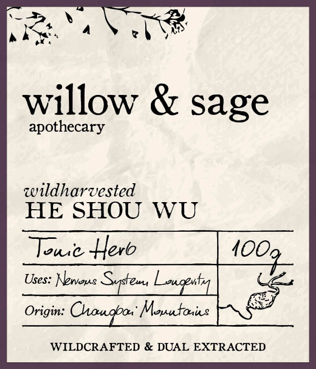 He Shou Wu - Willow and Sage Apothecary