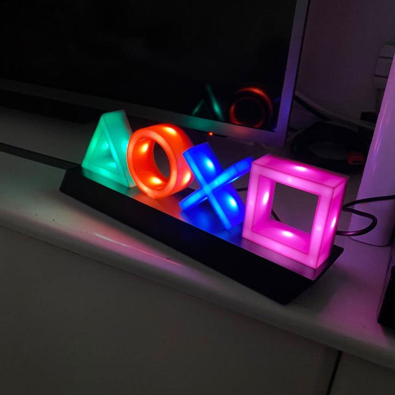 Playstation Icons Light with 3 Light Modes