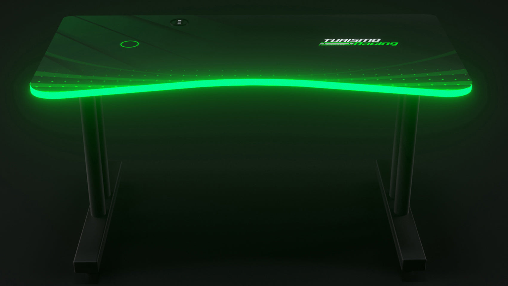 Green Autodromo Desk With LED Lighting