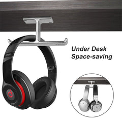 Under Desk Headphone Hanger