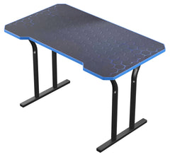Blue Decagon Gaming Desk