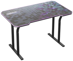 Purple Decagon Gaming Desk