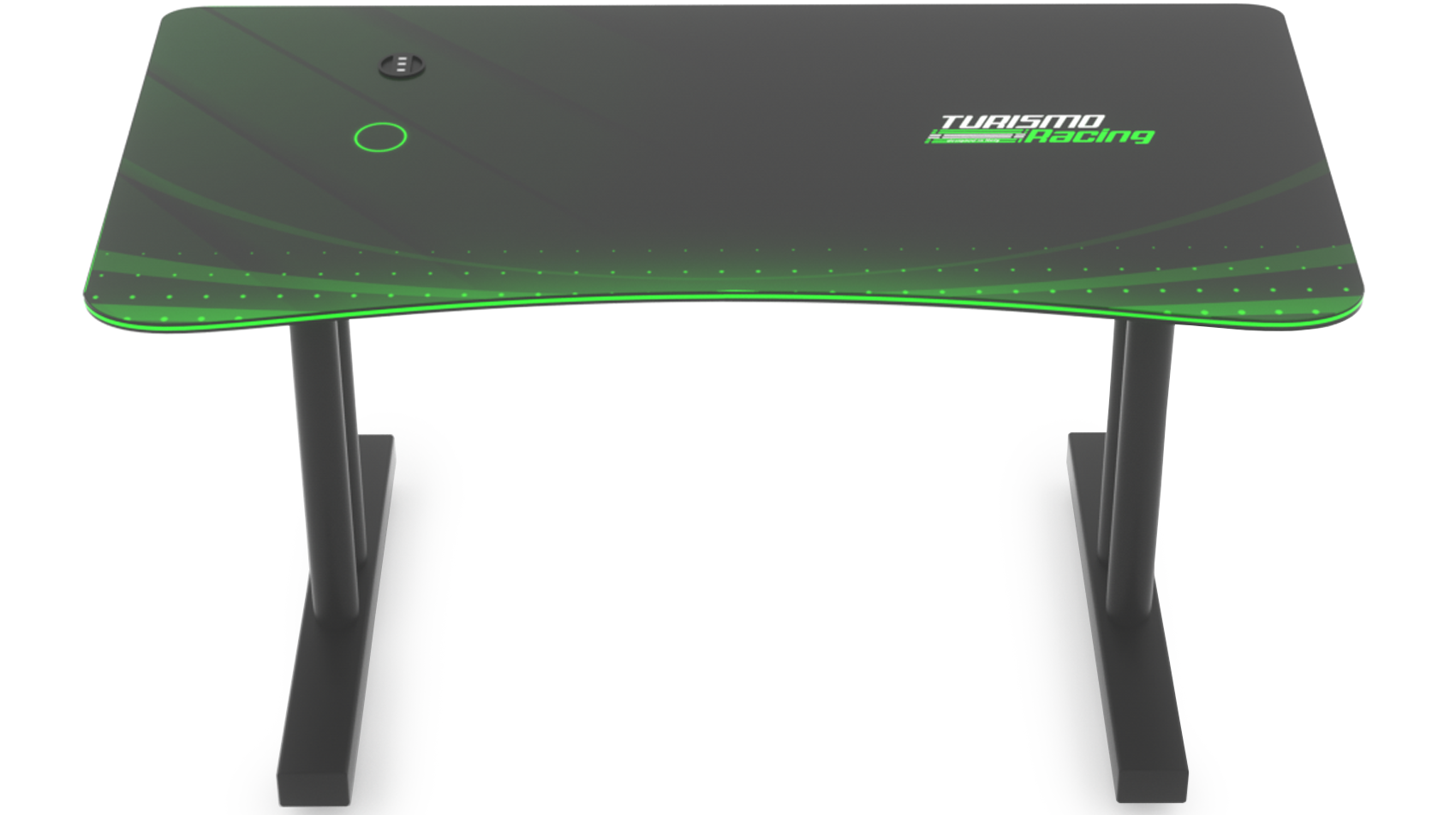 Green Stazzione Gaming Desk