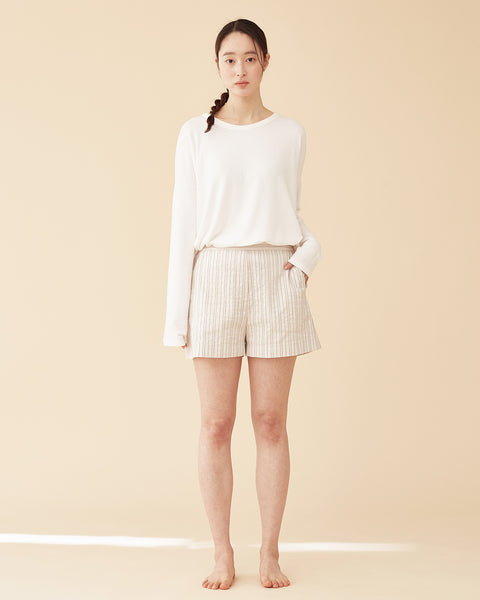 Mori Stripe Shorts