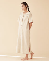 Two way longerline dress / Linen