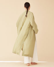 [Pre-Order] George Shawl Collar Robe / Green Tea