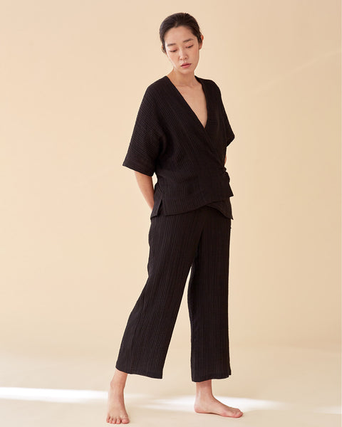 Ari Yukata Set / Black