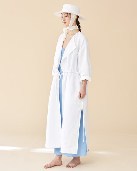 Off-White Reversible Robe