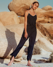 Classic Line Sleepwear Set / Navy