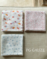 Gauze Hand Towel with Baby