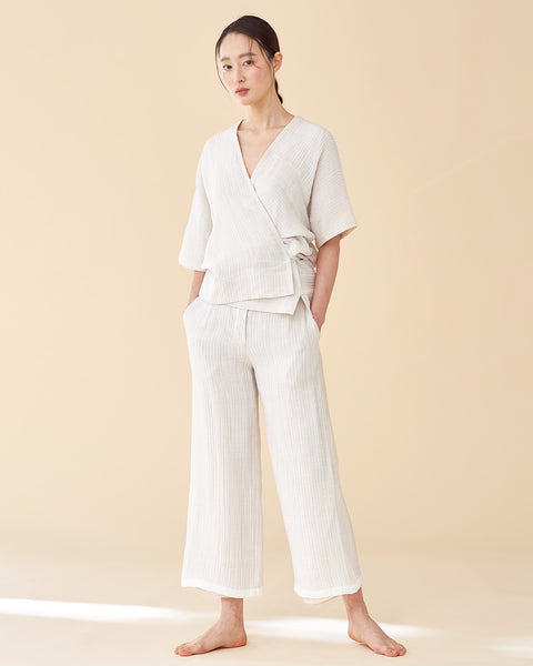 Ari Yukata Set / White