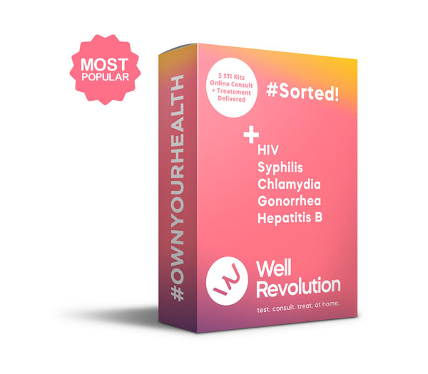Sorted! 5 At-Home STI Tests | Online Consultation | Prescriptions Provided