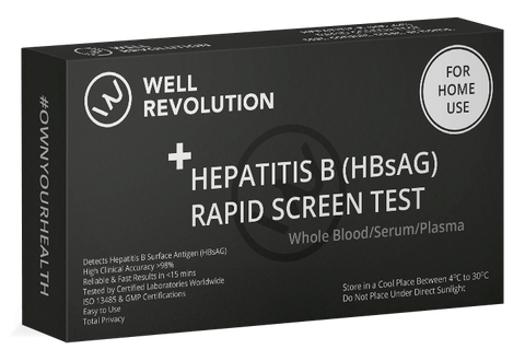 STD at home test kit for Hepatitis B New Zealand