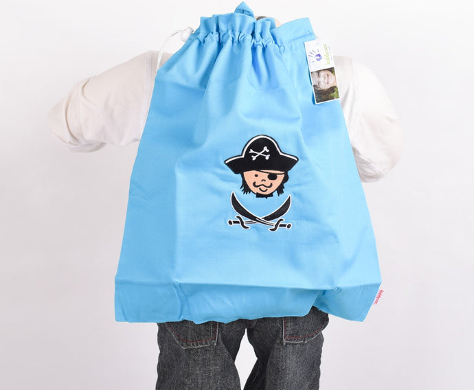 Blue Pirate Backpack