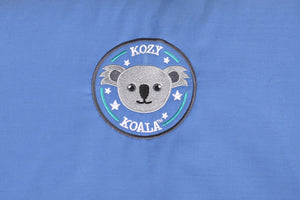 Kozy Koala Sleepmat 1.45m w/ detachable blanket - Blue SOLD OUT DUE IN 3 WEEKS