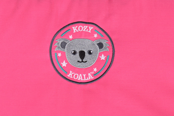 Kozy Koala Sleepmat 1.45m w/detachable blanket - Pink