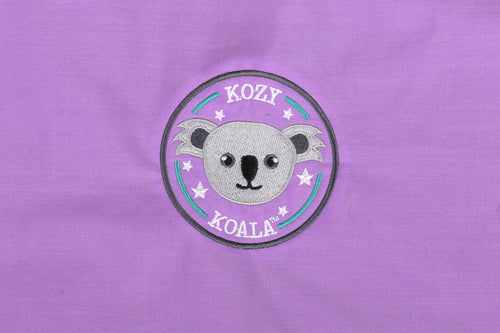 Kozy Koala Sleepmat 1.45m w/detachable blanket - Purple